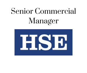 Senior Commerical Manager, HSE