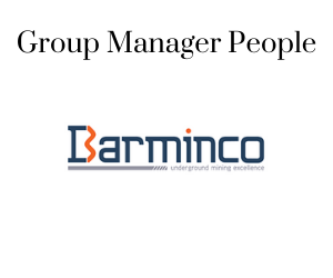 Group Manager People, Barminco