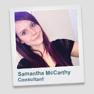 Samantha McCarthy - Consultant