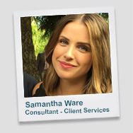 Samantha Ware - Consultant Client Services
