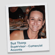 Suz Thorp - Supervisor Commercial Accounts