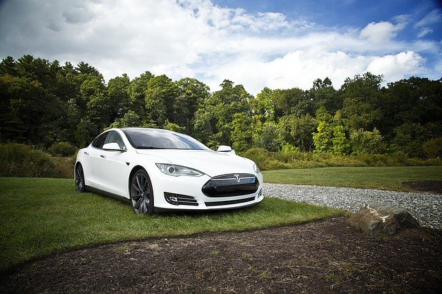 Picture of a Tesla Vehicle