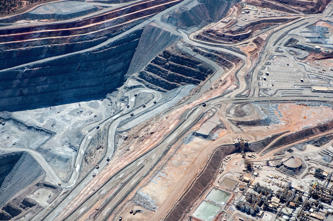 Superpit in Kalgoorlie