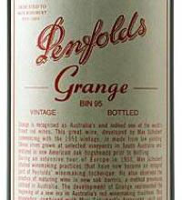 Penfolds Grange lable